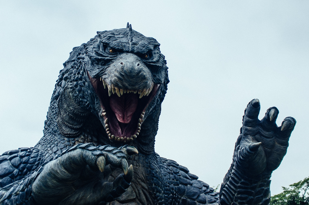 image of godzilla in lucid dreaming