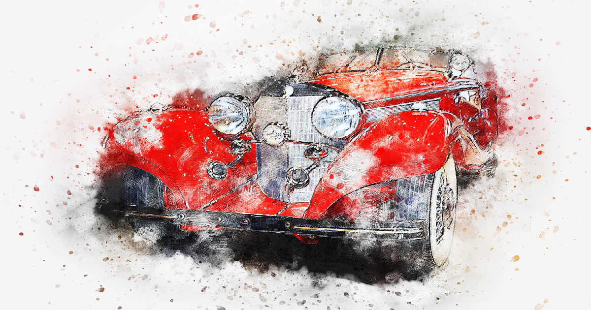 red car in lucid dreaming