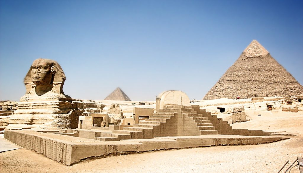 Great Pyramids in lucid dreaming