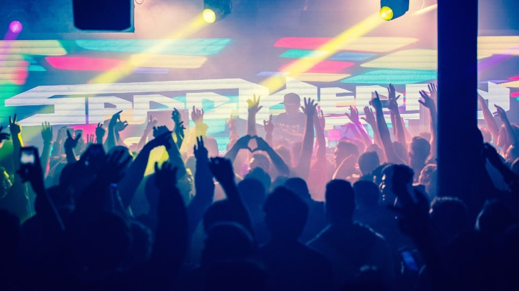 party concert in lucid dreaming