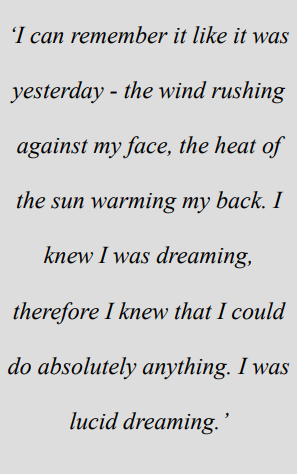 quote about lucid dreaming
